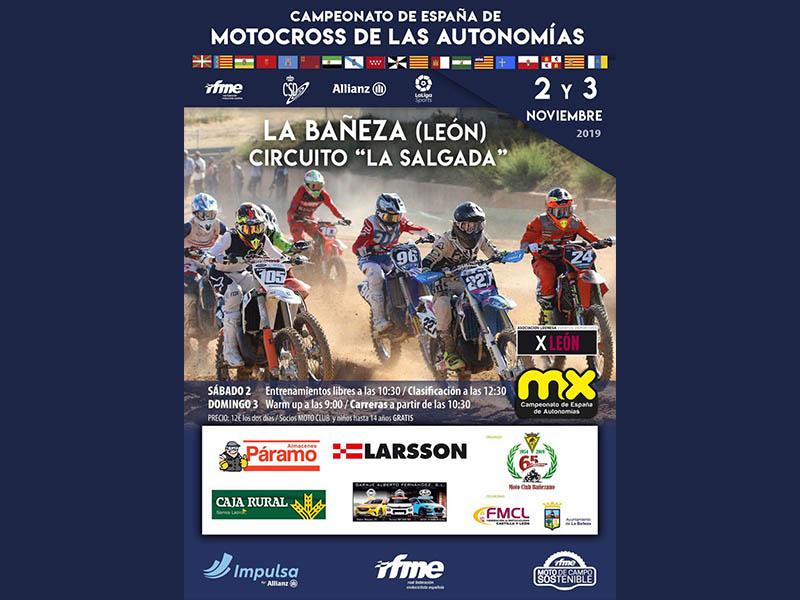 Larsson patrocina el Campeonato de España de Motocross por Autonomías