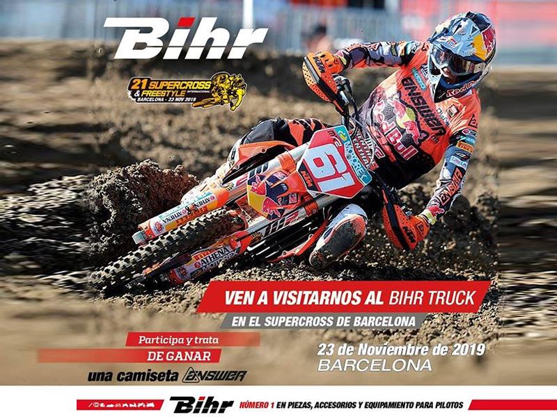Bihr calienta motores para el Supercross
