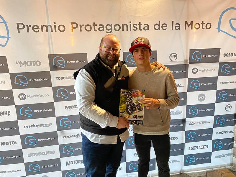 """Jorge Prado gana el premio """"Protagonista de la Moto"""" 2019"""