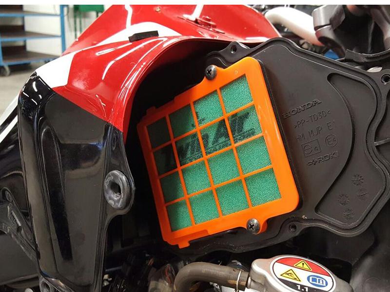 Bihr presenta el kit completo de filtrado de aire de Twin Air para la Honda Africa Twin