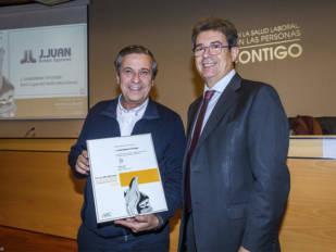 MC Mutual reconoce la seguridad laboral de J.Juan