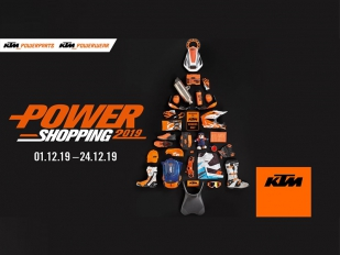 Increíbles descuentos con la campaña Power Shopping 2019 de KTM