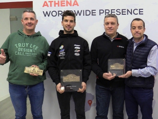 Athena Motor Ibérica rinde homenaje a Jaume Betriu