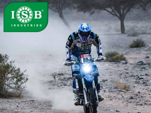 El piloto de ISB Industries Francesco Catanese consigue acabar el Dakar 2020