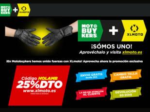 La plataforma de venta Motobuykers se integra en la de XLmoto
