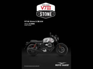 ¡Ahórrate 1.320 euros en la compra de la nueva Moto Guzzi V7 Stone III S!