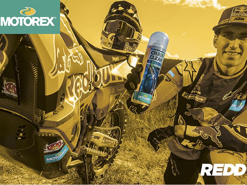 REDD incluye a Motorex en su porfolio de producto