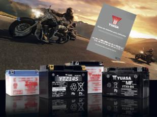 Yuasa edita un catálogo global de baterías