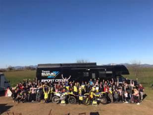 Suzuki Importcross celebra su fiesta anual con pilotos y aficionados
