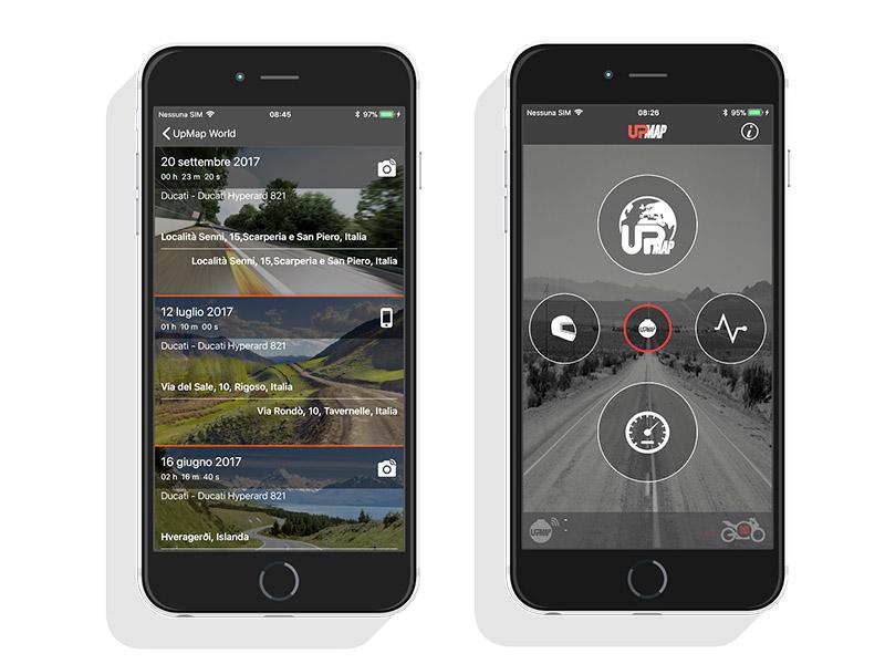Cambia el mapa de potencia de tu moto desde el móvil con la app UpMap