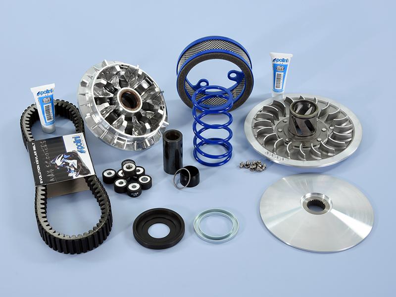 Polini presenta su nuevo kit de transmisión Hi-Speed para la Yamaha TMax 560