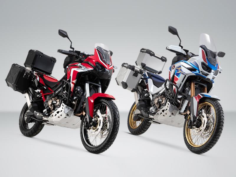 Mejora la capacidad de carga de la nueva Honda Africa Twin con SW-Motech