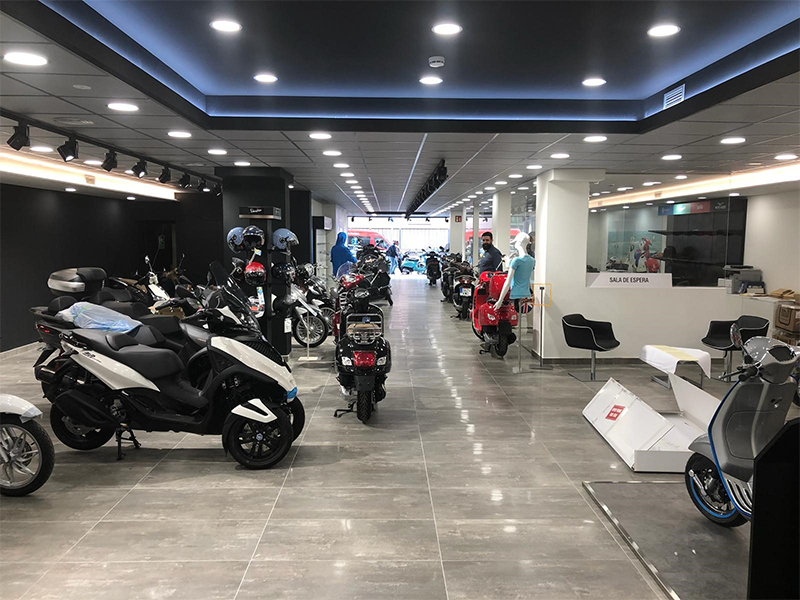 Las ventas del sector de la moto se disparan un 21,2% en febrero
