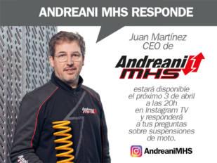 Andreani MHS emitirá hoy en IG LIVE para resolver dudas sobre suspensiones