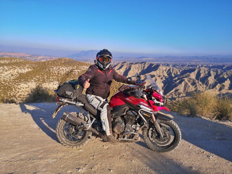 "Ruta por el desierto de Gorafe, por Manu Rodríguez ""Rider 83"" (1ª Etapa)"