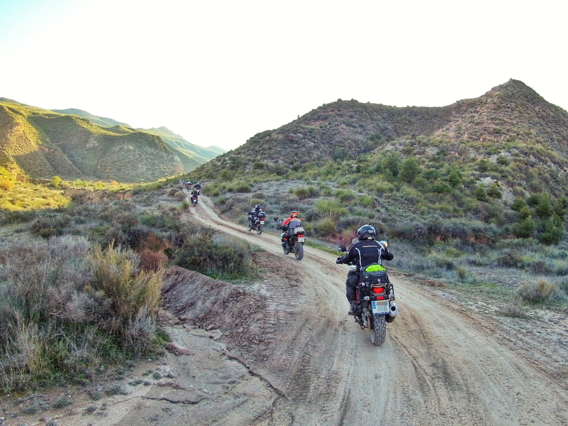 "Ruta por el desierto de Gorafe, por Manu Rodríguez ""Rider 83"" (2ª Etapa)"