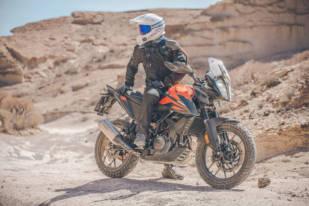 KTM 390 Adventure 2020 con los Continental TKC 70