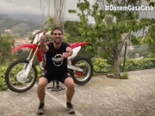 La Federació Catalana de Motociclisme da gas desde casa