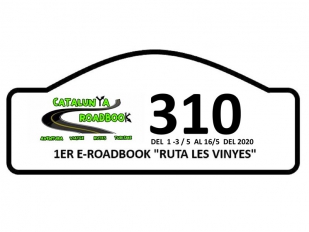 Ruta les Vinyes, un E-Roadbook virtual organizado por Catalunya Roadbook