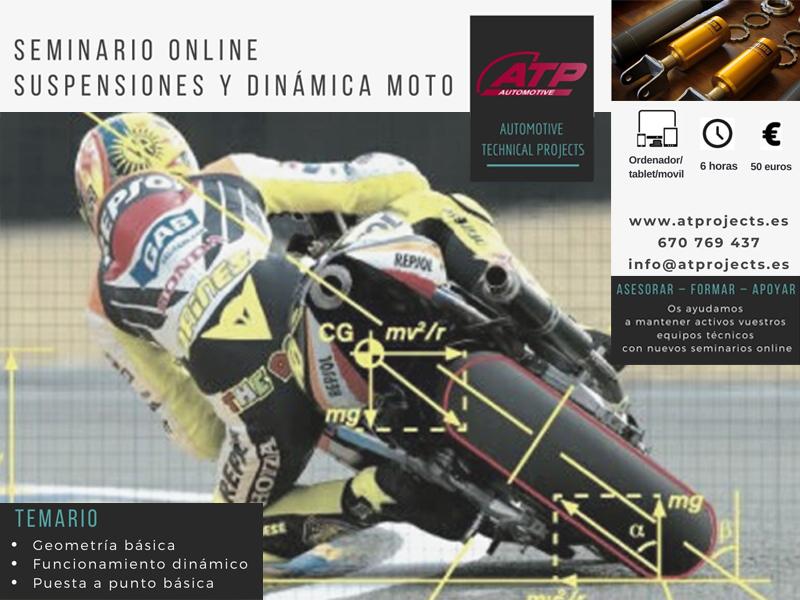 Más formación on line ATP Automotive para el sector de las dos ruedas