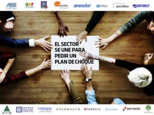 La automoción española se une para pedir al Gobierno un Plan de Choque Nacional de apoyo al sector