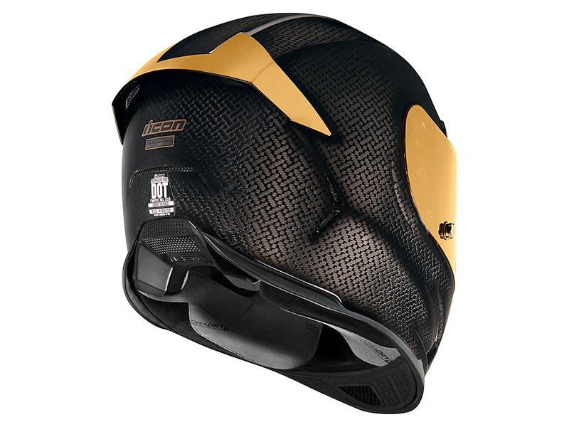 Icon lanza el espectacular casco Airframe Pro Carbon Gold