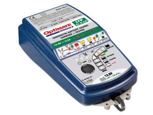 Cargadores de batería Optimate: calidad, prestaciones y tamaño reducido