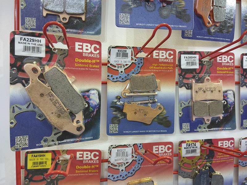 Ya disponible la nueva tarifa de precios de la gama de frenado EBC Brakes