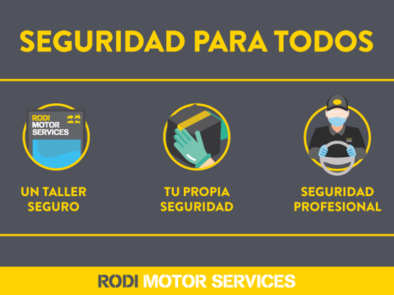 Talleres Rodi y su protocolo de seguridad y prevención