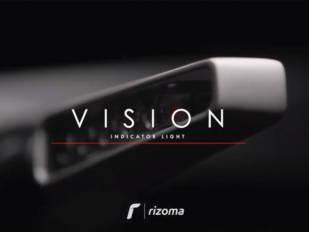Indicaciones con estilo con los intermitentes secuenciales Vision de Rizoma