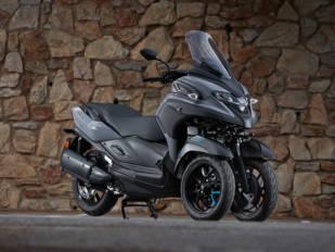 Yamaha presenta su nueva arma para la ciudad, la Tricity 300