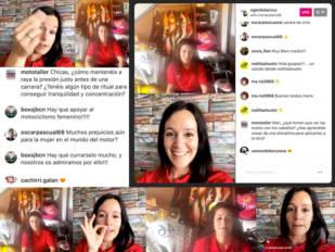 Las pilotos María Calero y Pakita Ruiz comparten una charla en el Instagram de NGK