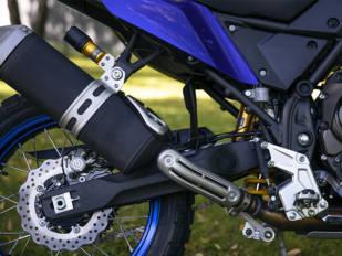 AndreaniMHS equipa la Yamaha Ténéré 700 con componentes Öhlins y Termignoni