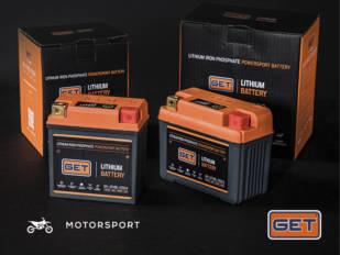 Athena Motor Ibérica incorpora a su oferta las nuevas baterías de litio Get
