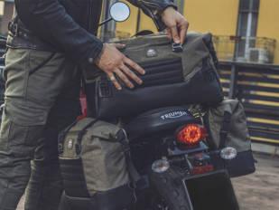 Kappa presenta la gama de bolsas blandas 'Ramble Range' para motos custom y Café Racer