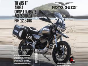 Lo tienes todo para viajar con la Moto Guzzi V85 TT