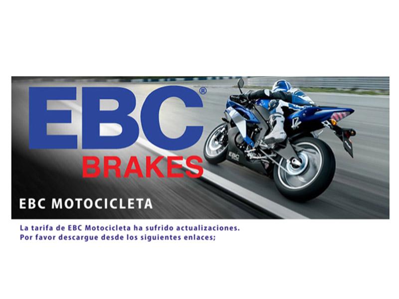 EBC Brakes lanza su nuevo catálogo 2020