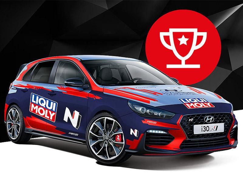 Liqui Moly sortea un espectacular Hyundai i30 N de 275 CV
