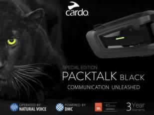 Cardo Systems lanza el PackTalk Black Special Edition