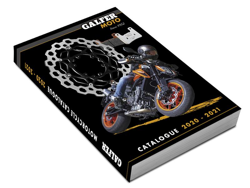 Galfer actualiza su catálogo general para motos 2020-2021
