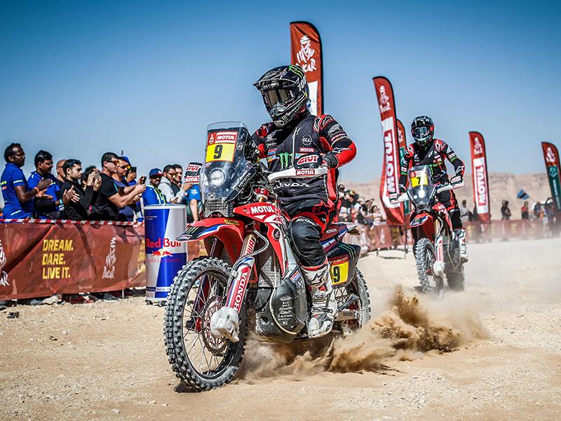 Motul patrocinará por cuarto año consecutivo el Dakar