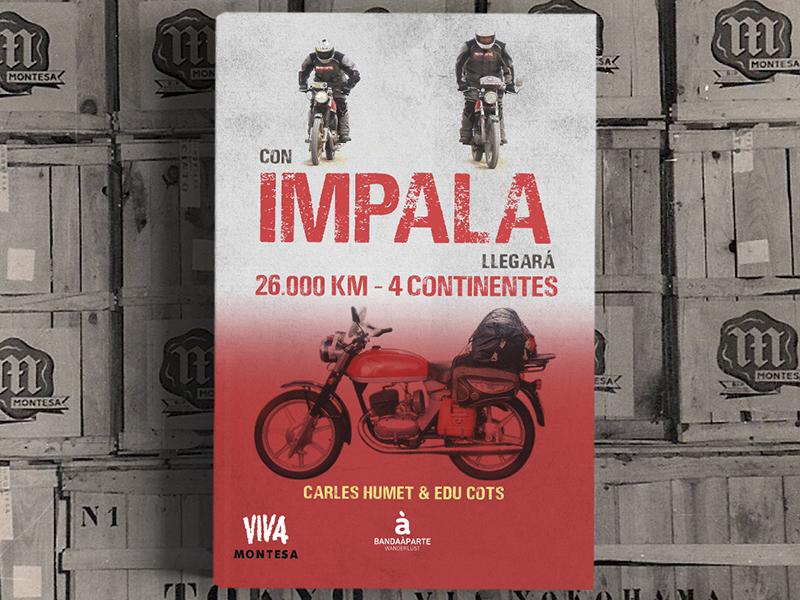 Con Impala llegará, un libro imprescindible para los fans de la mítica moto de Montesa