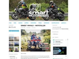 SmartMotoRiders entrevista a Ernest Vinyals (director de MotoTaller)