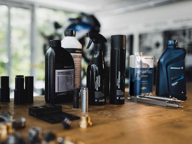 Original Care, la gama de productos de limpieza y mantenimiento de BMW Motorrad