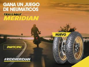 Comparte tus viajes con Dunlop y tendrás la oportunidad de ganar unos neumáticos Trailmax Meridian