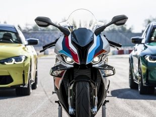 La nueva BMW M 1000 RR monta el neumático Dunlop SportSmart TT