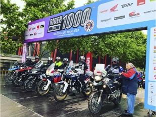 Todo a punto para que este sábado se celebre la Rider 1000