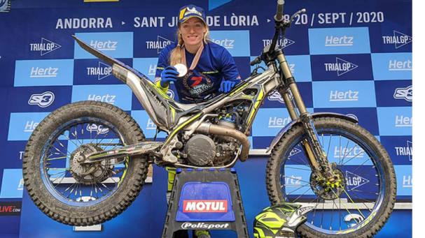 Andrea Locatelli y Emma Bristow, campeones con Galfer