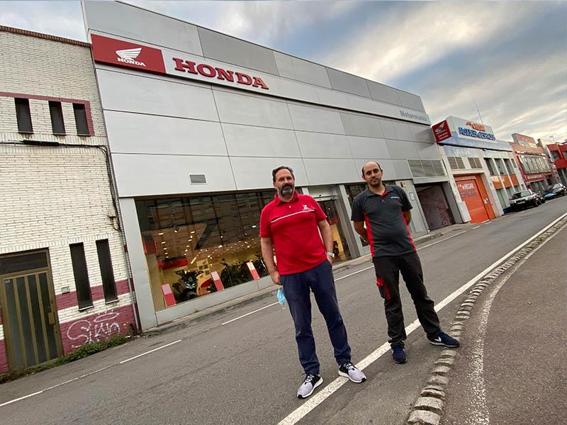 Visitamos el nuevo concesionario oficial Honda de Motormanía en Gijón