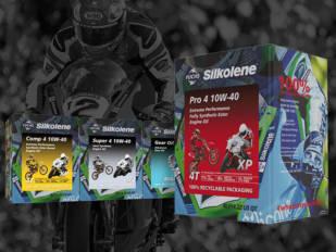 Los nuevos envases Fuchs Silkolene son 100% reciclables y fáciles de usar y almacenar
